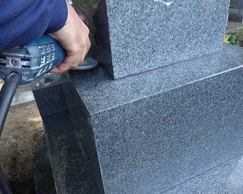 墓石クリーニング施工