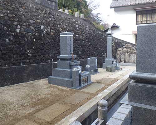 代々墓の施工