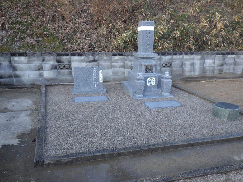 オリジナル型 9寸角 代々墓 四重台