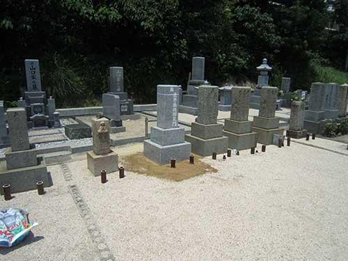 夫婦墓 7寸角 2重台